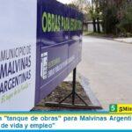 """Leo Nardini un """"tanque de obras"""" para Malvinas Argentinas: """"Generan mayor calidad de vida y empleo"""""""