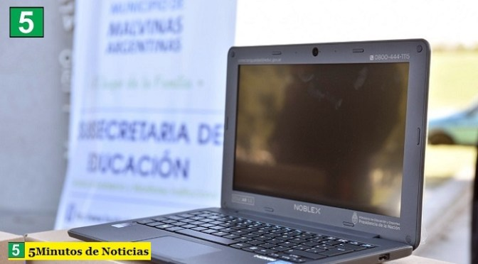 Más chicos de Malvinas Argentinas ya tienen su notebook para acceder a la educación
