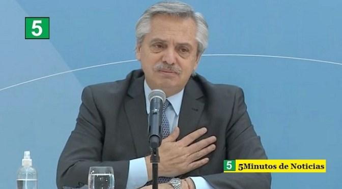 El Presidente Fernández permanecerá en aislamiento hasta el jueves, día en que se hará un nuevo PCR