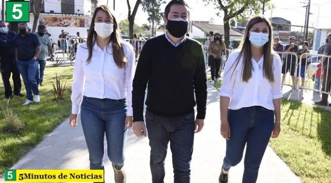 "Leo Nardini inauguró la renovada Plaza Itatí: ""Otro espacio recuperado para las familias de Malvinas Argentinas"""