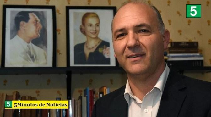 Guillermo Carmona designado al frente de la Secretaría de Malvinas