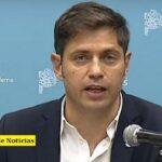 """Advertencia del gobernador Kicillof: """"La oposición propone salir de la pandemia con menos derechos"""""""