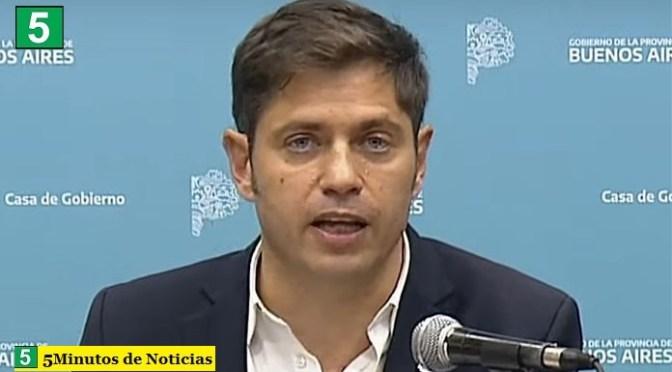 """El gobernador Kicillof destacó los cambios en su Gabinete: """"Nos da un impulso renovado, siempre pensando que viene la reconstrucción"""""""