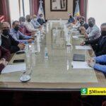 El gobernador Kicillof encabezó una reunión con los jefes comunales peronistas de la primera y la tercera sección electoral