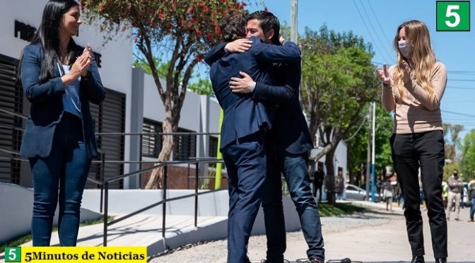 Kicillof en Malvinas Argentinas inauguró junto a Leo Nardini y Noe Correa el edificio de la EP N°31