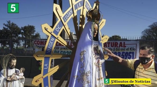 Bajo el lema «Madre del Pueblo, te pedimos por la salud y el trabajo» miles de fieles peregrinaron a Luján