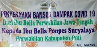 IBU BELLA Jateng Gelontorkan Bansos bagi Warga Terdampak COVID-19