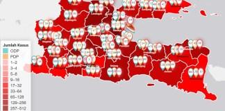 Minta PSBB Dicabut, Khofifah: Surabaya, Gresik dan Sidoarjo Masih Tertinggi