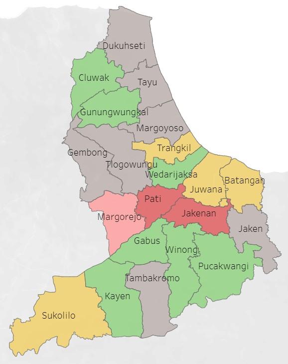 Update Virus Corona Pati, Pasien Positif Bertambah, Kecamatan Jakenan Jadi Zona Merah
