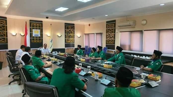 GP Ansor Jateng Temui Rektor Unnes, Dorong Deradikalisasi Kampus