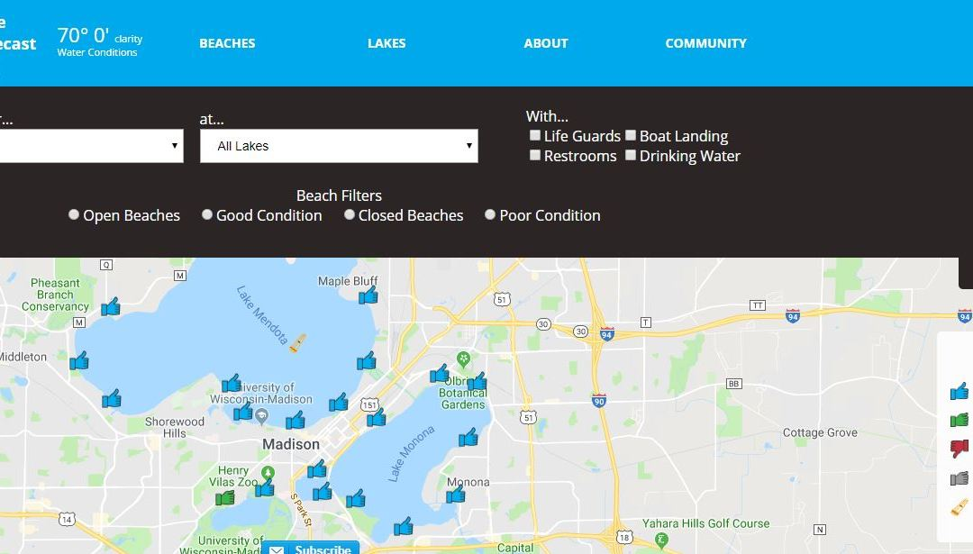 5NINES creates crowd sourcing mobile app to monitor Madison Lakes