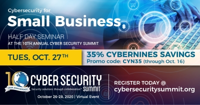 Join us at the 10th Annual Cyber Security Summit
