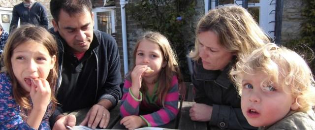 Corfe Castle, UK - Oct 2012