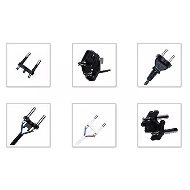 Automatic European Power Cord Plug Riveting Press Machine