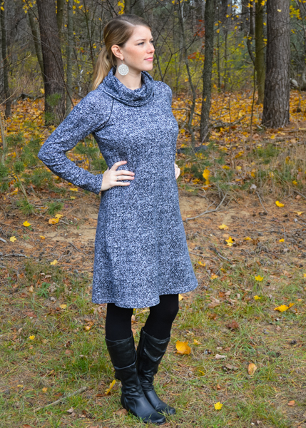 Women's Nancy Raglan Top, Tunic, and Dress