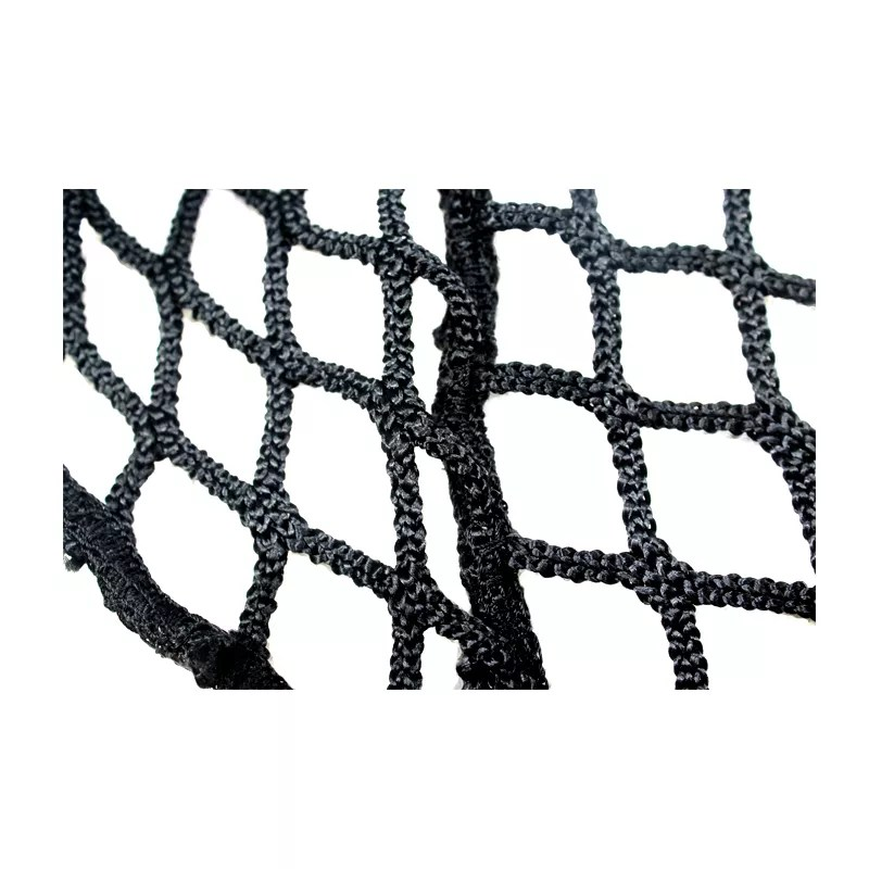 Intop Custom Black Polyester Knotless Hand Tied Horse Net