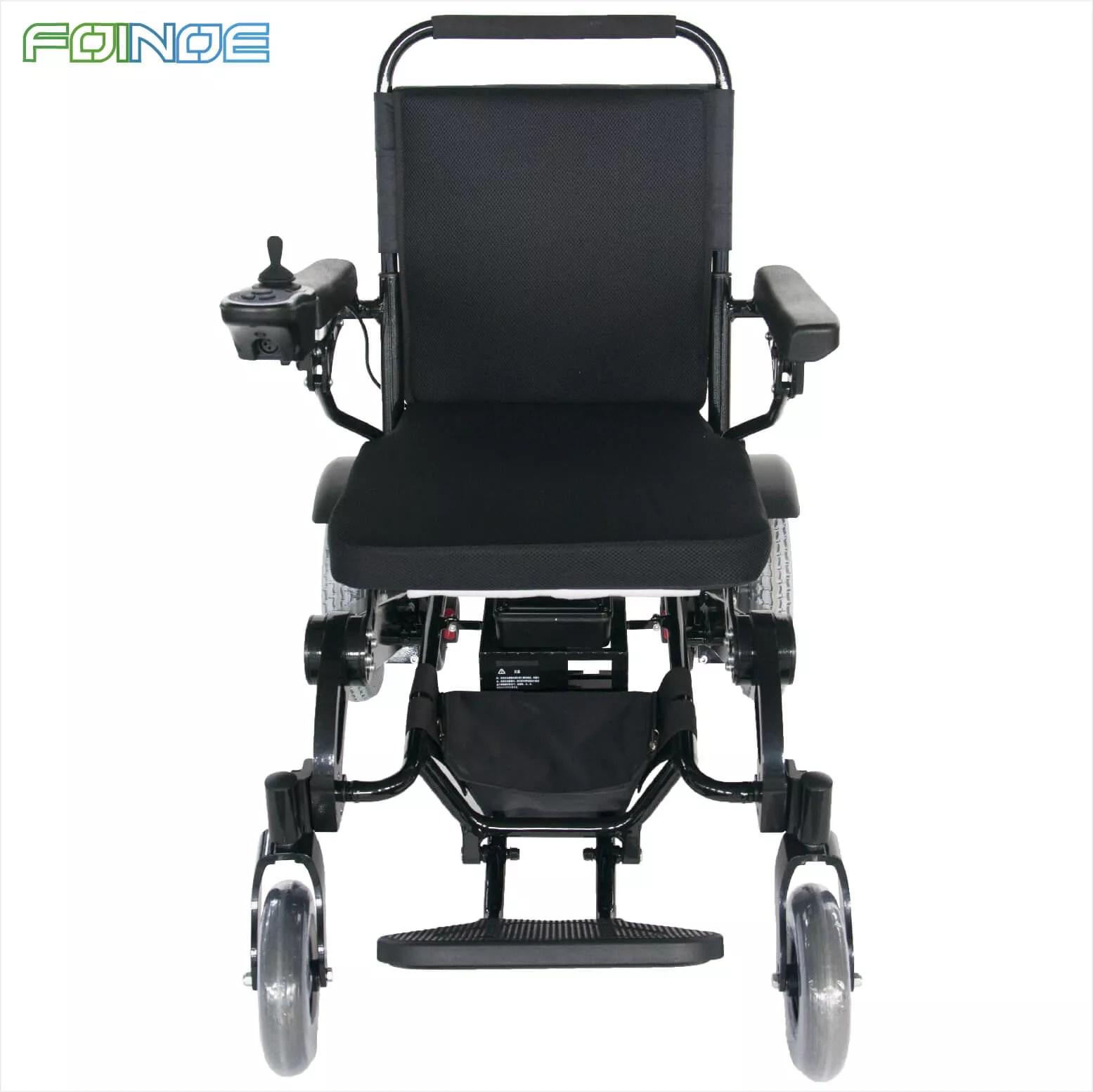 Silla de ruedas motorizada ligera y plegable para adultos