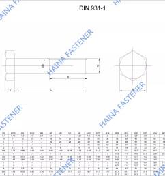hex bolt diagram [ 2970 x 2100 Pixel ]