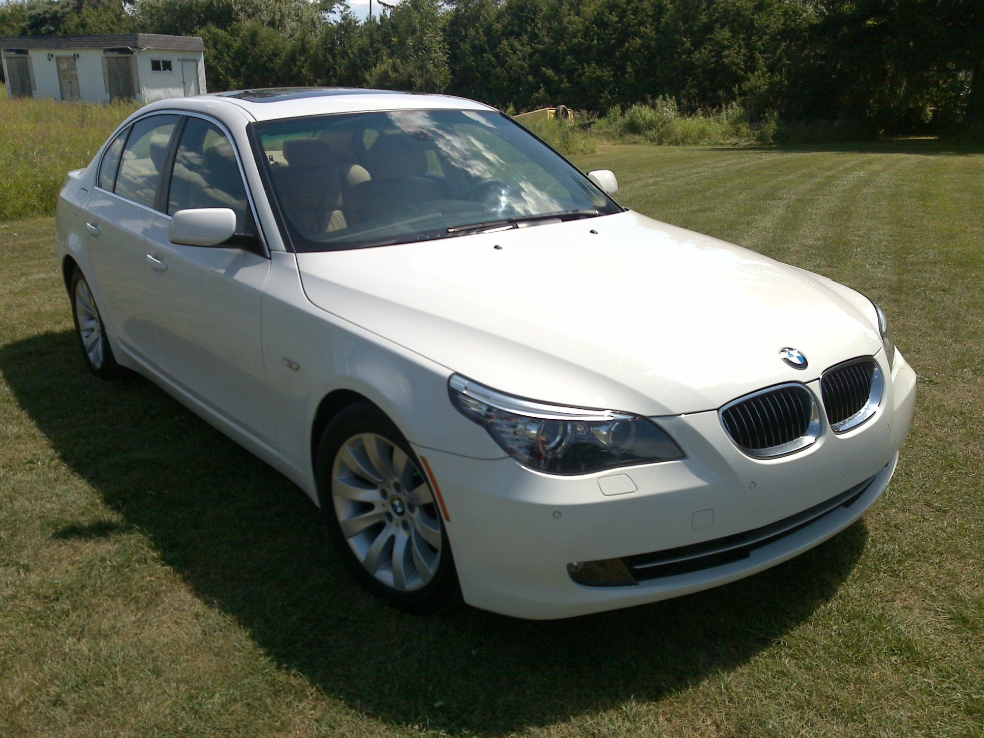 hight resolution of  2008 bmw 528i white on beige 40 000km 08172008086 jpg