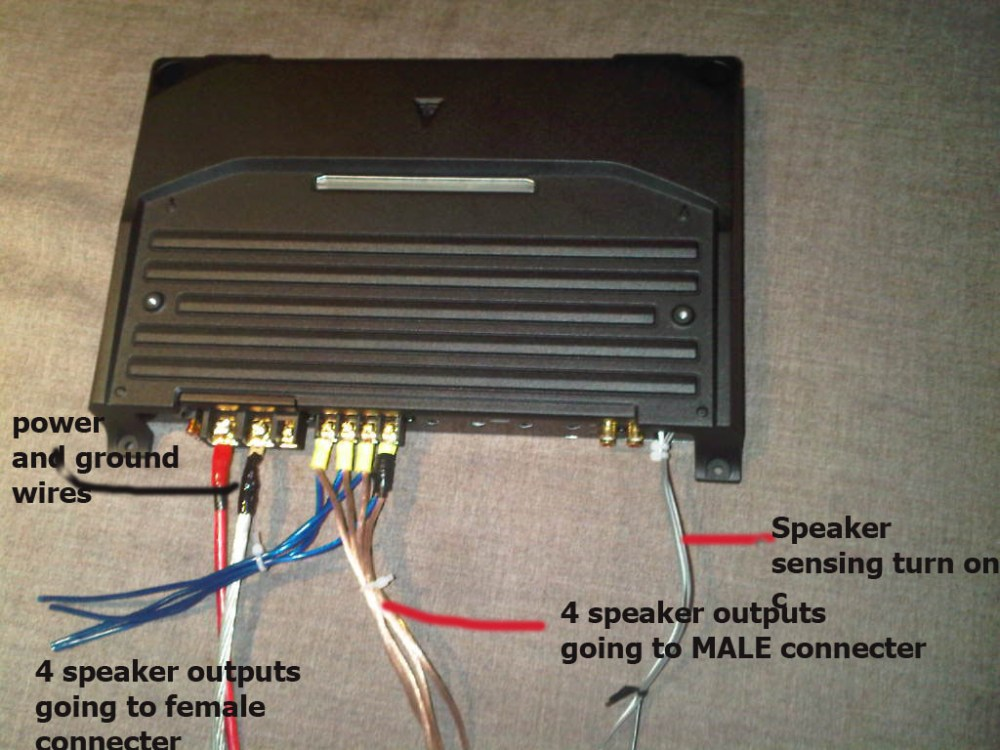 medium resolution of adding an amp to logic 7 via bruce 39 s method img00015 20090517 1539