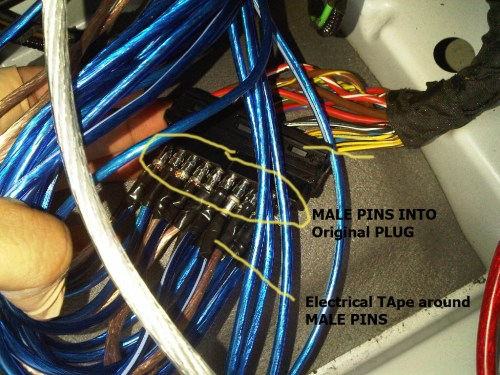 small resolution of adding an amp to logic 7 via bruce 39 s method img00062 20090522 1843