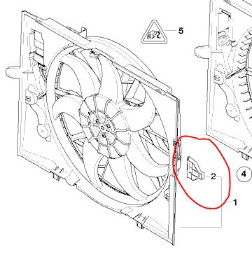 Automatic Transmission Oil Cooler Thermostat tip broke