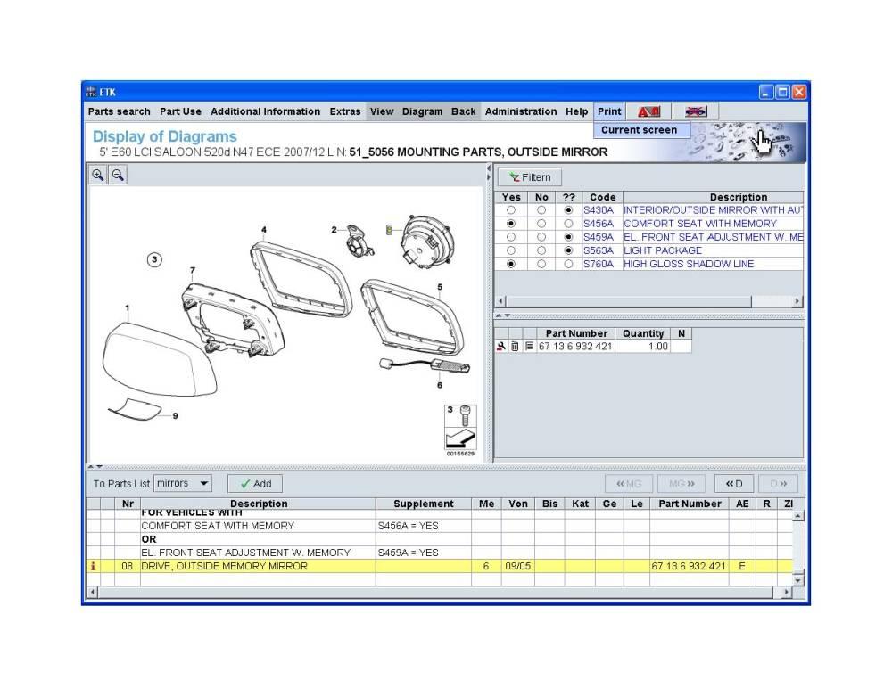 medium resolution of pre 09 05 m5 mirror wiring diagrams mirrorhousing normal jpg