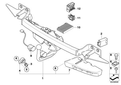 Electric tow bar installation manual or schematic needed
