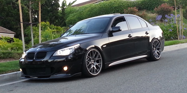 BMW 5 Series with BBS Wheels Home