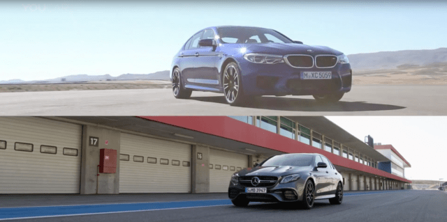 Mercedes-AMG E63 S and BMW M5