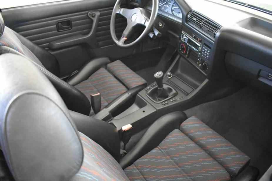 1989 BMW E30 Convertible