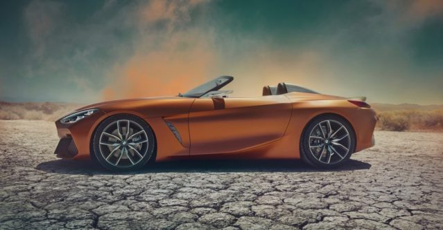 The BMW Z4 will be here in production form sooner rather than later.
