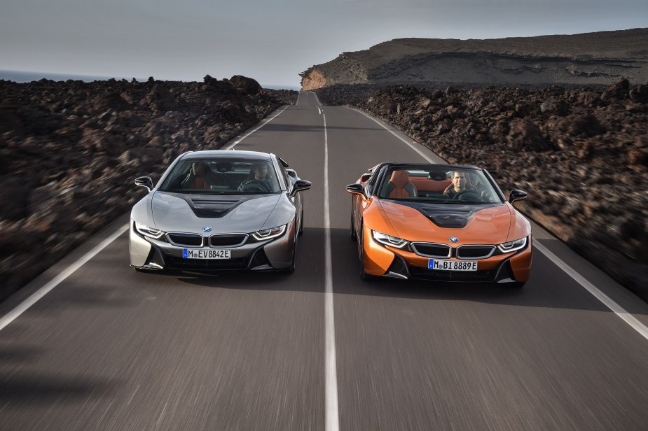 5series.net 2018 BMW M5 and 2019 i8 Coupe and Roadster
