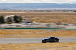 BMW M550i at Willow Springs