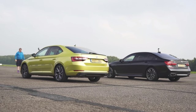 BMW versus Skoda