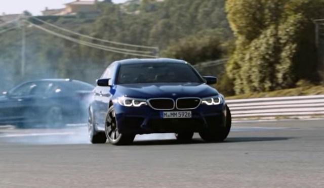 2018 BMW M5 on the Estoril Circuit