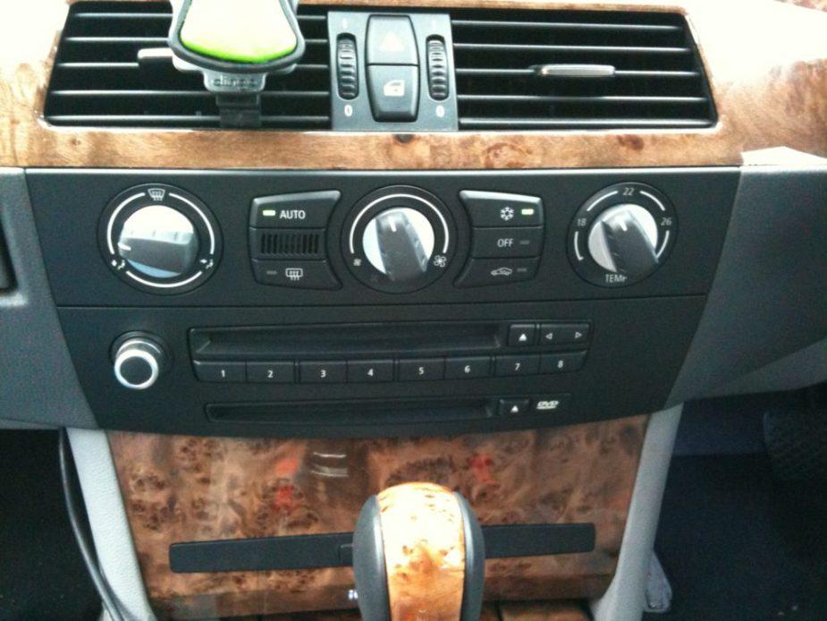 E60 BMW climate control