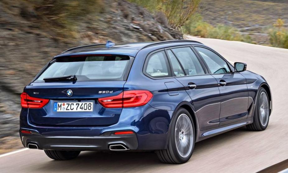 5Series.net - 2018 BMW 5 Series Touring Diesel