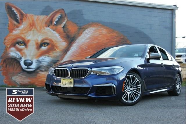 5series.net 2018 BMW M550i xDrive Review