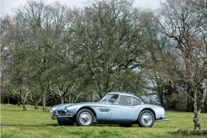 BMW 507 On the Grass