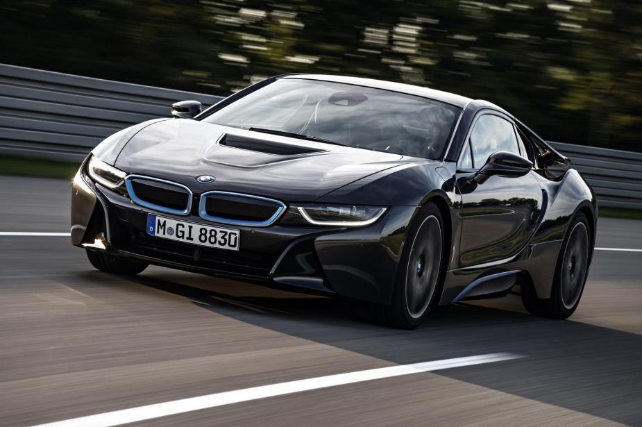 BMW electrified vehicles