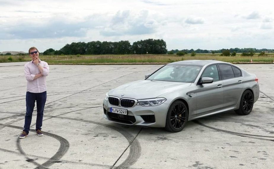 YouTuber Shmee150 Drives BMW M550i