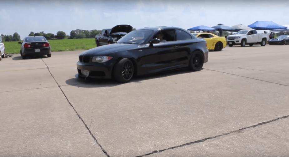 BMW 135i single turbo tuned custom half mile