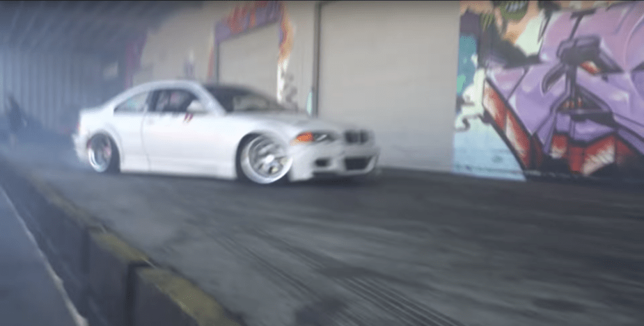 BMW E46 Wide body and V8 swapped for drifting