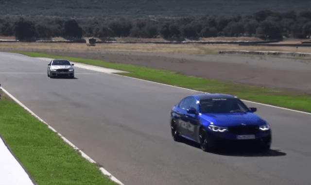 The 2019 BMW M5 Competition at the Ascari circuit in Spain.