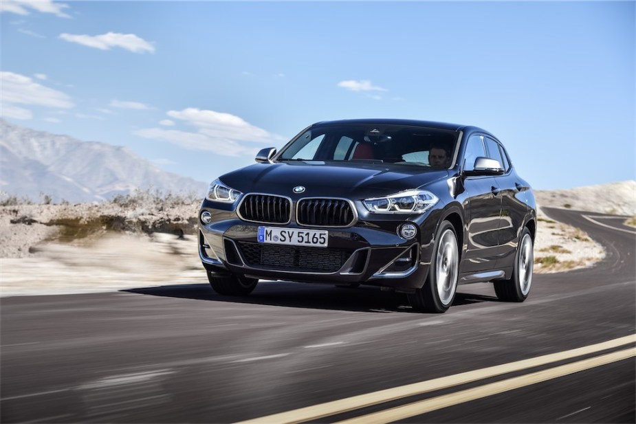 BMW X2 M35i announced.
