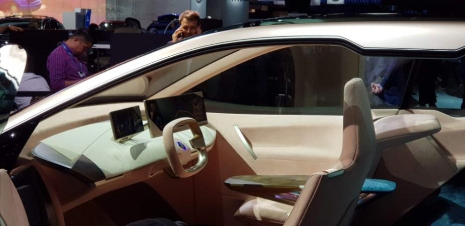 Autonomous BMW Vision iNext