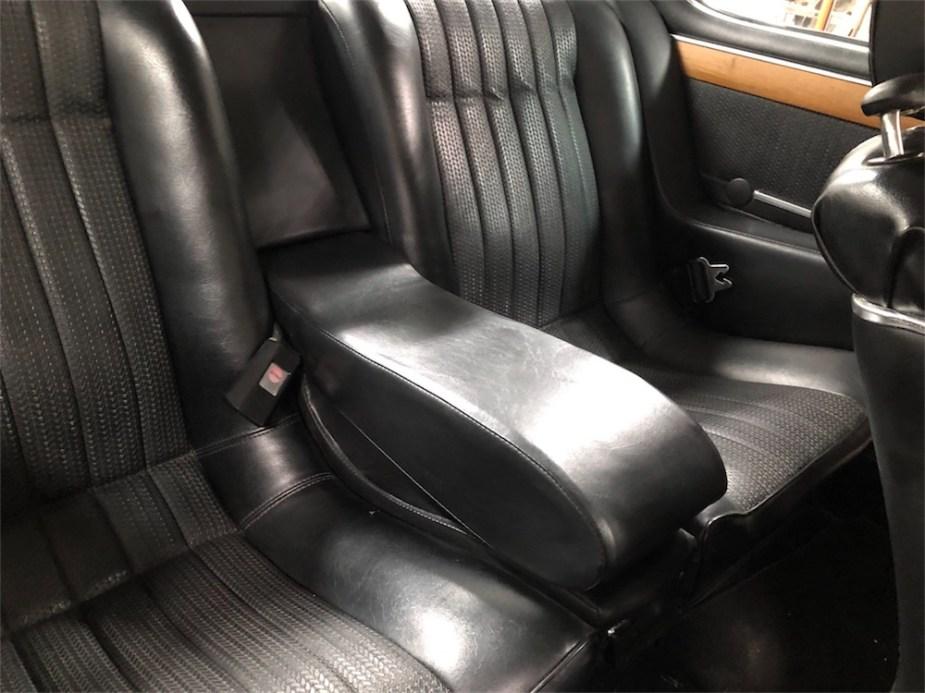 1973 BMW 3.0CS E9 Coupe interior