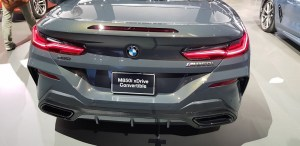 BMW 2019 M850i Convertible xDrive an 8 Series Wonder at L.A. Auto Show