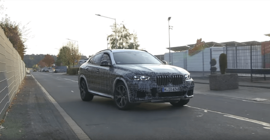 BMW X6 spy shots